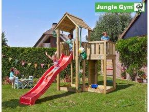 Jungle Mansion s červenou šmýkačkou